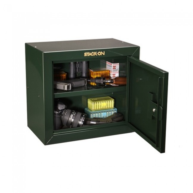 Stack-On GCB-500 Pistol/Ammo Key Lock Cabinet w/ Two Removable ...