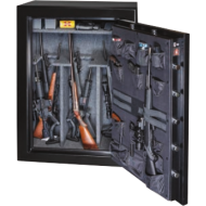 Gardall BGF6040 39 Gun UL Rated Fire/RSC Burglar Safe, Door Organizer - Open