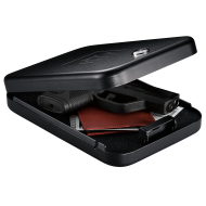GunVault NanoVault NV200 TSA Approved Compact Mechanical Lock Pistol Case