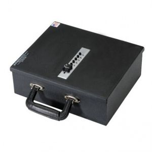 PermaVault PV-1-PL Pistol Case with Security Cam Key Lock