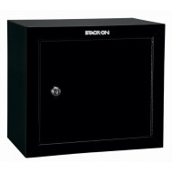 Stack-On GCB-500 Pistol Ammo Cabinet w/ Key Lock & Two Removable Shelves